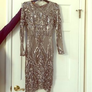 Sequence Holiday Party Dress